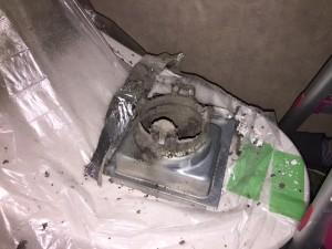 トイレ換気扇旧②