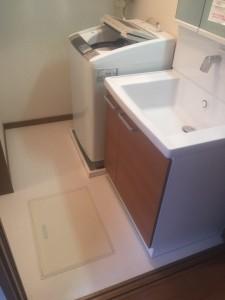 2016洗面化粧台・床下収納⑦