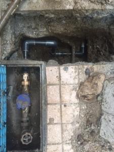 2017.11.12 鉛管漏水修繕④