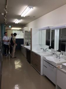 ノーリツKANTO工場洗面化粧台①